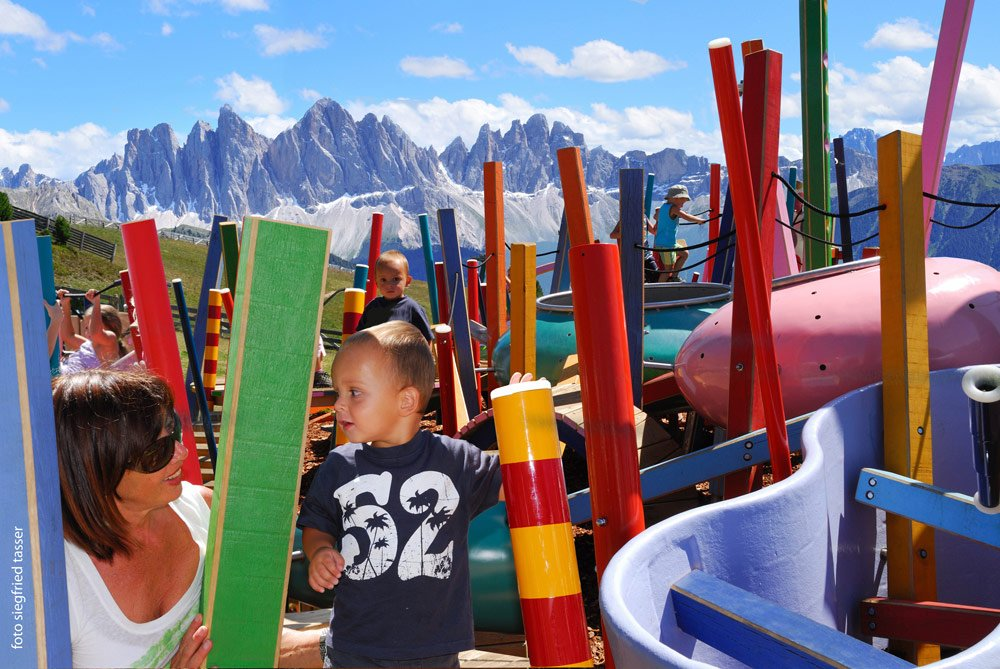 Excursionist Paradise for Children on Bressanone's Mountain: Plose
