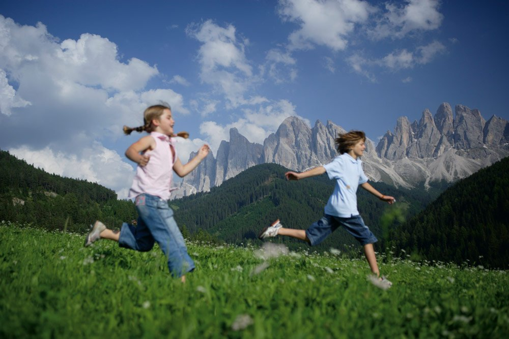 Mountain Holiday in Alto Adige:  Sport in an Alpine Landscape
