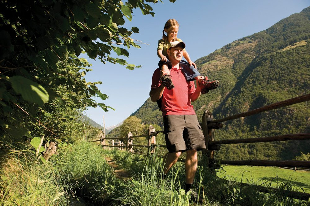 Exciting adventure programme during hiking holidays with children