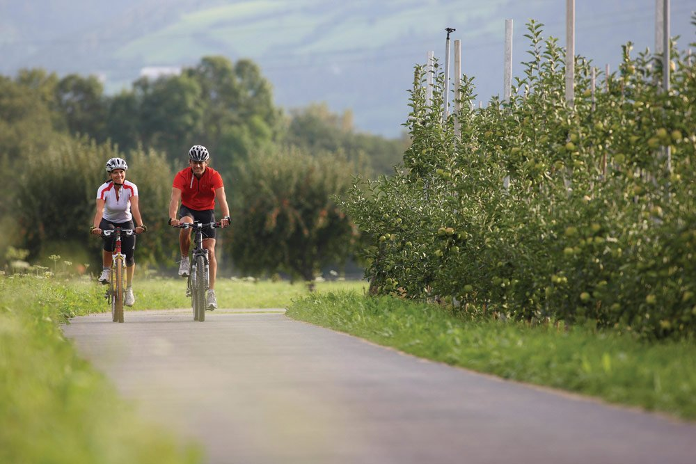 Alto Adige Biking Vacations: Peaceful BikeTouring in the Valley