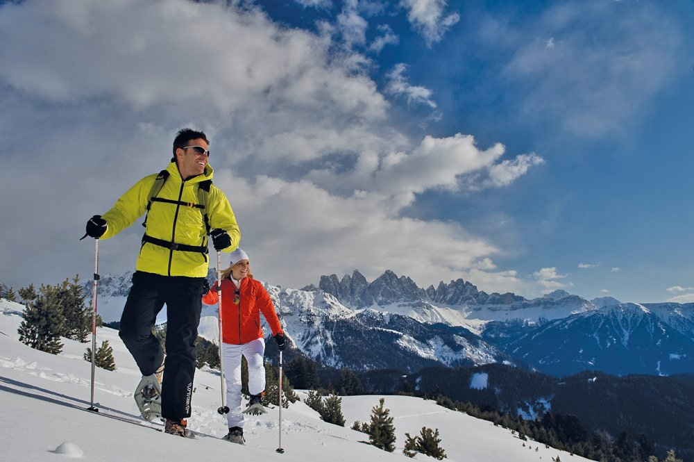 Guided Snow Shoeing Excursions in Alpine Country
