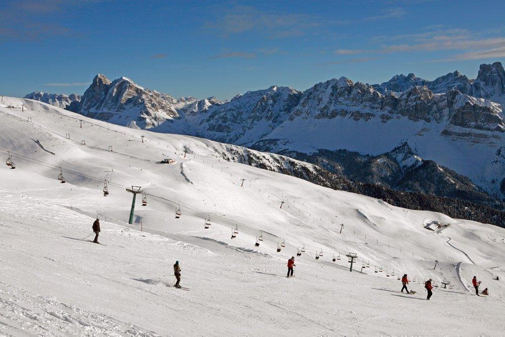 Divertimento sugli sci senza fine sulla Plose