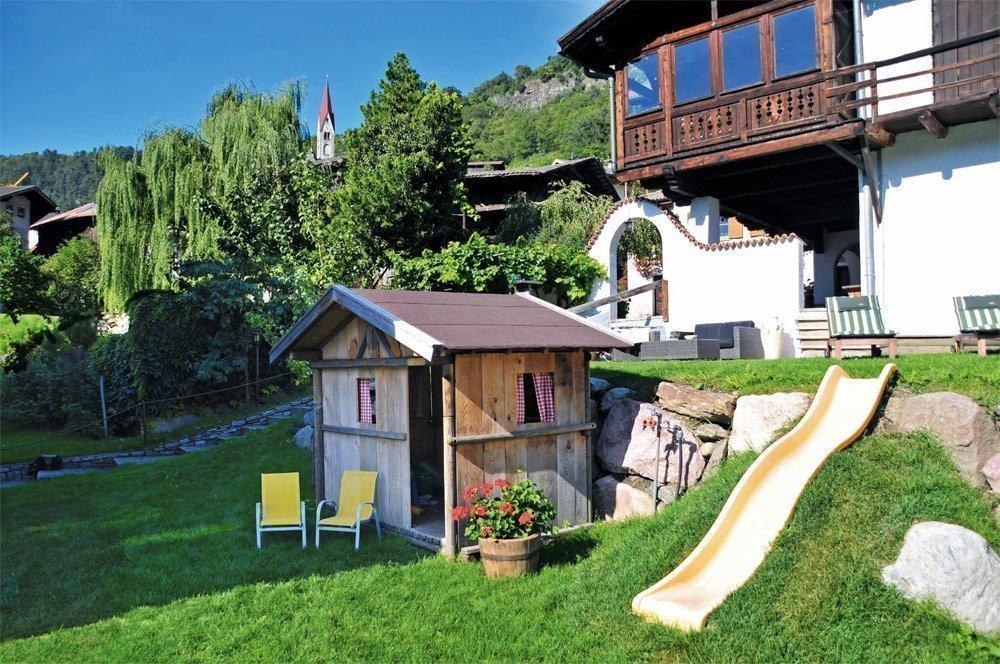 Freizeitspaß für Kinder: Bauernhofpension Moarhof mit Spielplatz