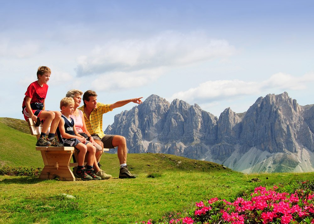 Vacation Excursions with Children:  Mountain Excursions in Isarco Valley